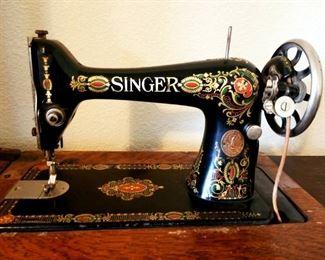 1910 model 66 singer sewing machine