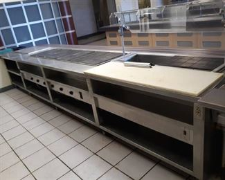 Atlas Metal Industries Steam Table Buyer Must Remove