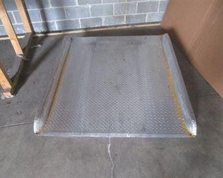 Metal Dock Ramp