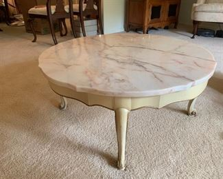 French marble furniture