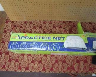 Multi-Sport Practice Net