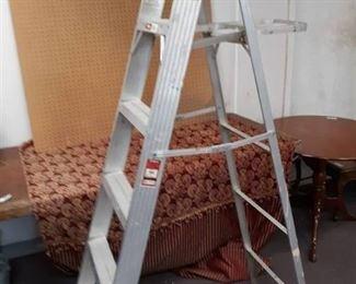 Werner Aluminum Step Ladder 6 ft