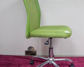 Lime Green Rolling Task Chair