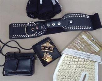 Studded Belt, Mini Cross Body, Bebe Washcloth Set…