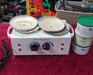 Wax Heater and Wax Supplies
