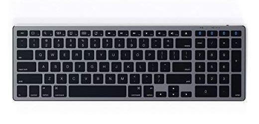 Satechi Aluminum Slim Wireless Keyboard with Numeric Keypad