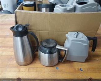 Coffee Carafes and Hot Pots Lot
