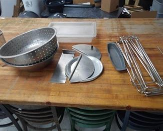 Strainer and Misc Kitchen Items