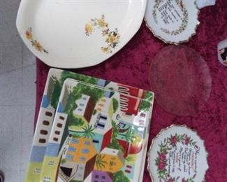 Collectible and Decorative Plates Lot