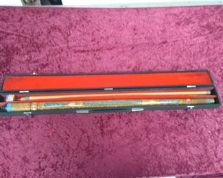 Pool Cue in Carry Case
