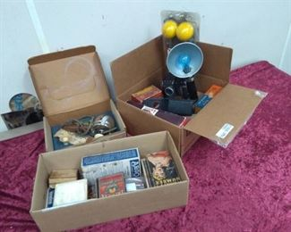Vintage Camera Equipment and Misc Collectibles…