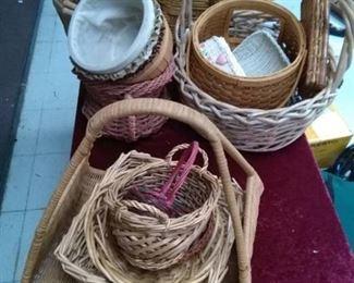 Lot of Baskets