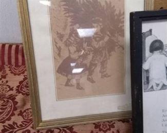 Framed Vintage Prints