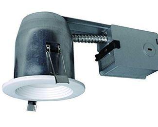 Utilitech Pro White LED Remodel Recessed Light Kit
