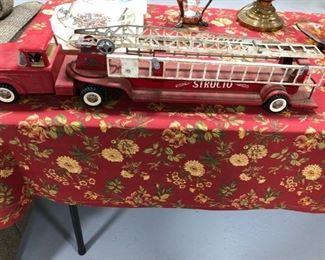 Antique Structo Fire Truck