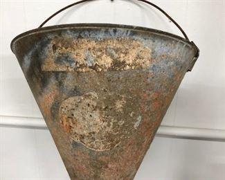 Antique Railroad Fire Bucket