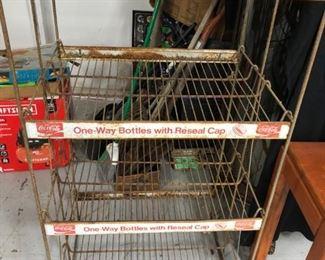 Vintage Coca Cola Display Rack
