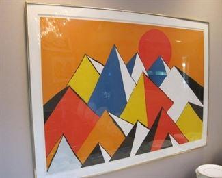 Alexander Calder, Artist Proof.