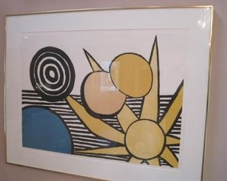 Alexander Calder Artist Proof.