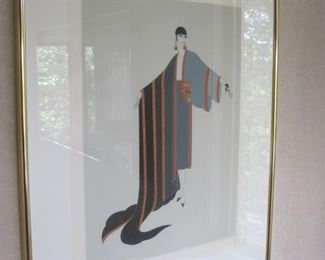 Erte Lithograph from an edition of 300.