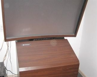 Rear Projection TV.