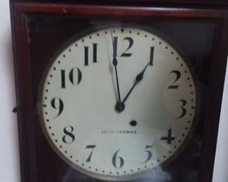 Seth thomas railroad clock