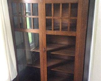 Nice oak china cupboard
