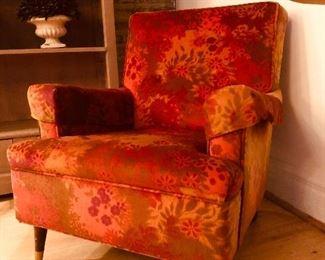 Mid Century Modern original upholstery chair