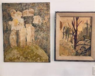 Mid century art collection!