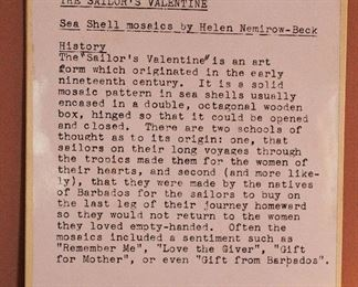 """Sailors Valentine Story by """"Helen Beck"""""""
