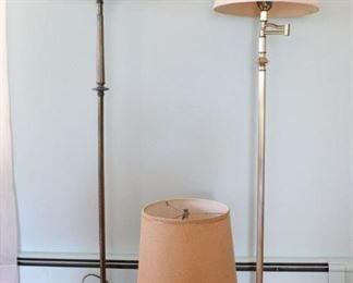 Metal Floor Lamps, Energy Meter Table Lamp