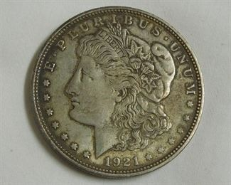 1921 - D Morgan Dollar