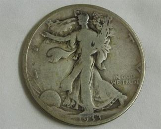 1933 - S Walking Liberty