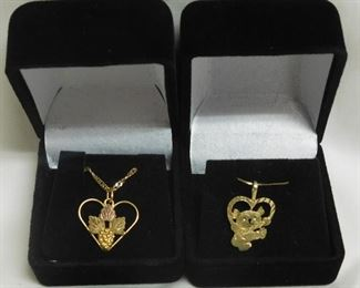 14 k Necklaces