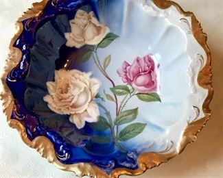 Alice JR Bavaria Hand Painted Bowl