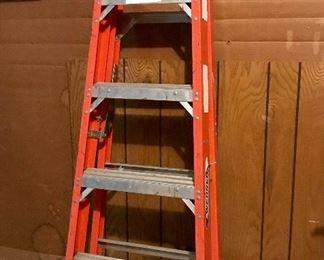 Werner 6' metal ladder