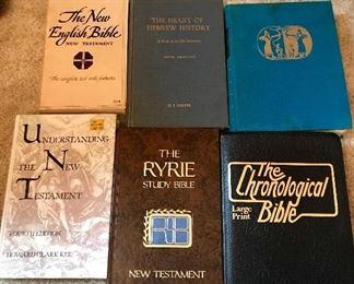 Religious hard back books