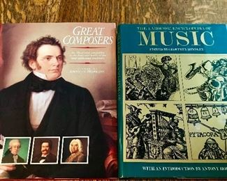Great Composers & Music hard back books