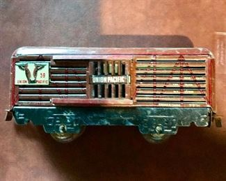 Union Pacific car