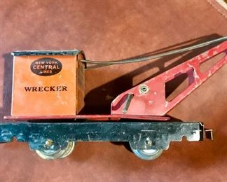 New York Central Lines Wrecker car
