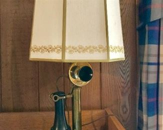 Western Electric phone lamp