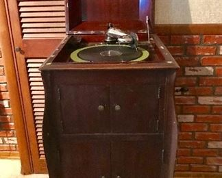 "Victrola by ""Victor"", working condition"