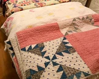 Beautiful hand made quilts