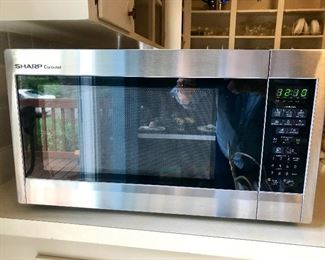 "Large SS ""Sharp ""microwave"