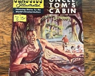 "1944 Comic #15 ""Uncle Tom's Cabin"""