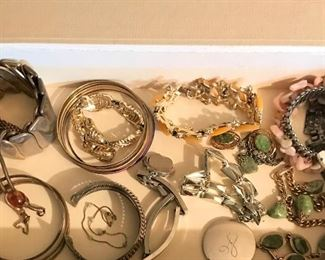 Lots of costume jewelry