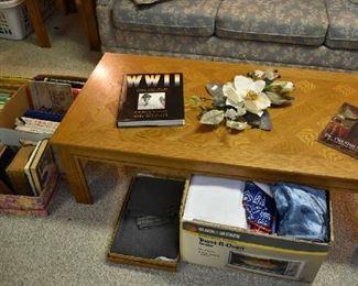 COFFEE TABLE, BOOKS