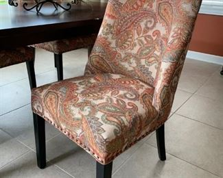 Pier1 Imports Corrine Collection Upholstered Dining Chairs!