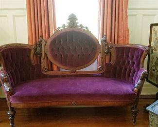 Another beautiful Victorian Sofa
