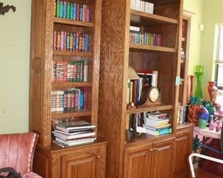 Hand crafted book cases